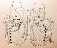 Anime Naruto, Naruto Fan Art, Naruto Comic, Naruto Shippuden Sasuke, Naruto And Sasuke, Otaku Anime, Manga Anime, Minato Kushina, Sasuke Sakura