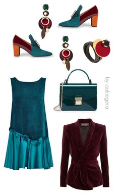 """Color mood"" by aakiegera on Polyvore featuring мода, Lattori, Paul Smith, Balmain и Marni"