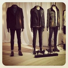 More Menswear for your perusal! #allsaints #all #saints #spitalfields #aw12 #new #collection #preview #clothing #mens #womens #brand #retail #shop #shopping #london #fashion #style #menswear #camo #leather