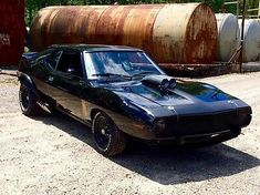 Zombie Survival Vehicle, Mad Max Road, 70s Muscle Cars, Amc Javelin, Dream Car Garage, American Motors, Old Trucks, Hot Cars, Cars And Motorcycles