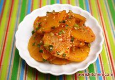 Pickled Radish MuChim – Aeri's Kitchen