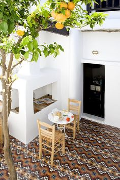 Eclectic traditional greek house design in Skyros by George Carabellas of Interior Exterior, Exterior Design, Outdoor Rooms, Outdoor Living, Casa Patio, Greek House, Patio Dining, Architecture Design, Greece