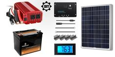 DIY Solar Generator: How to Make your Own Portable Solar Generator of 1000Wh Power and 100W Solar Panel for Under $400