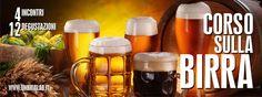 Esploreremo insieme il mondo della birra e ne analizzeremo le caratteristiche principali con il supporto didattico di dodici differenti tipologie di prodotto. Il corso è rivolto sia all'appassionato che vuole affinare le sue conoscenze da degustatore, sia a chi è neofita e vuole avvicinarsi a questa esperienza culturale. Parleremo della storia, delle tradizioni e del suo particolare gusto. http://www.umbrialab.it/#!corso-sulla-birra/mzrem