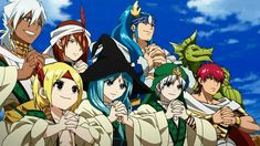 magi the labyrinth of magic/ the 8 generals Magi Judal, Magi Sinbad, Magi 3, Magi Adventures Of Sinbad, Magi Kingdom Of Magic, Sinbad The Sailor, Aladdin Magi, Anime Magi, Anime Group