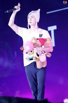 Exo's OhSehun with bears~~~ 아이고 ♥️