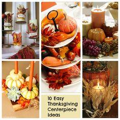 10 Easy Thanksgiving Centerpiece Ideas