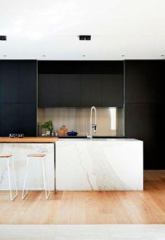 Tendencias: cocinas negras | Decorar tu casa es facilisimo.com