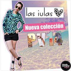 ¡Adelanto de la nueva temporada de Las iulas!  Color y mucha onda en cada prenda, ¡no dejes de conocerla! www.dondecomprarmejor.com