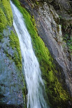 Green Falls, Baxter State Park