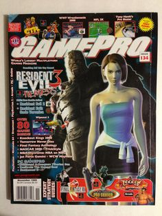 Gaming Magazines, Video Game Magazines, Retro Video Games, Video Game Art, Retro Games, Love The 90s, Pro Skaters, Jill Valentine, All Games