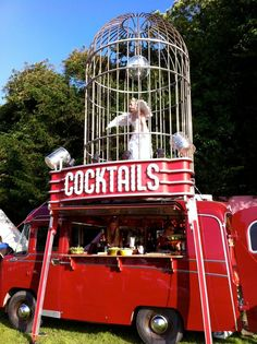 The Birdcage Cocktail Bar - Mobile Bar Service