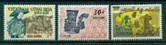 South Vietnam Stamps - 1971, Scott 398-400, Rice farming, MNH, F-VF by Great Wall Bookstore, Las Vegas. $5.06