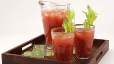 Best Caesar - Recipes - Best Recipes Ever - You'll be surprised at how much tastier one of Canada's best-loved drinks is with this homemade mix. Bottled clam juice is available at most supermarkets.