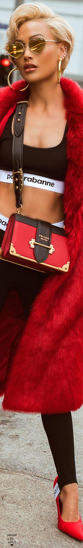 Micah Gianneli in Paco Rabanne Street Chic, Street Style, Micah Gianelli, Super Model, Paco Rabanne, Black White Red, Specs, Vip, Eyewear