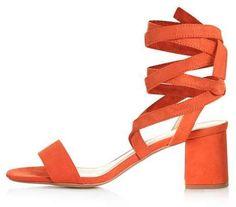 Delilah tie-up sandals