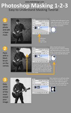 Photoshop Masking Tutorial: 3 Easy Steps • When you are ready to move toward…