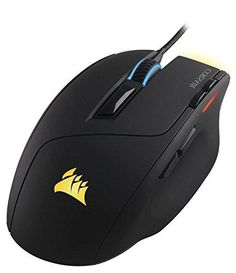Corsair Gaming Sabre RGB Gaming Mouse, Light Weight, 10000 DPI, Optical, Multi Color