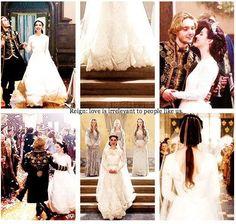 reign mary and francis wedding Wedding Attire, Wedding Gowns, Reign Serie, Reign Mary And Francis, Reign Quotes, Marie Stuart, Reign Tv Show, Reign Dresses, Reign Fashion