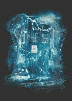 I Am The Doctor, Doctor Who Fan Art, Doctor Who Tardis, Tardis Wallpaper, Doctor Who Wallpaper, Die Tardis, Tardis Blue, Hello Sweetie, Torchwood