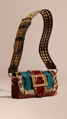 The Patchwork in Snakeskin and Textured Suede Leather Women's Bag | Genuine Leather Bag | Italian Leather Bag | Women's Bag | Women's Leather Bag | Leather Bag Women | Leather Bag Fashion | Leather Bag Fall 2018 | Leather Bag Fashion Style | Leather Bag Fashion Inspiration | Genuine Leather Bag | Women's Bag | Belt Bag | Waist Bag | Hip Bag | Crossbody Bag | Top Handle Bag | Women's Handbag