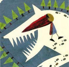 Little Red Riding Hood by Valantina Cavallini