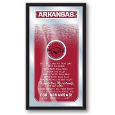 Arkansas Razorbacks Fight Song Mirror at SportsFansPlus.com. Visit website for coupon!