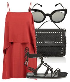 Untitled #4005 by beatrizvilar on Polyvore featuring Splendid, Rebecca Minkoff, Givenchy and Fendi