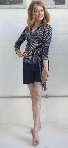 How to look fab in shorts How To Look Better, That Look, How To Make, Image Makeover, Tracy Gold, Gold Fashion, Fashion Tips, Summer Outfits, Shorts