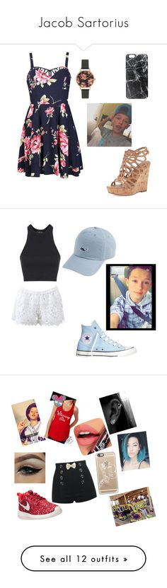 """""""Jacob Sartorius"""" by scrapbook76 ❤ liked on Polyvore featuring Ally Fashion, Charles by Charles David, Olivia Burton, Casetify, Topshop, Alexis, Converse, beauty, NIKE and Fiebiger"""