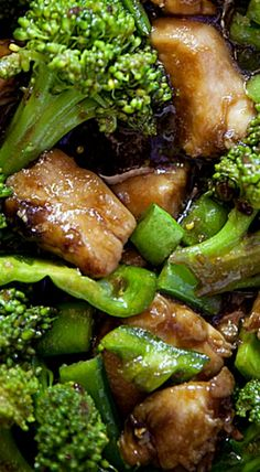 Chicken and Broccoli Chinese Takeout Chicken and Broccoli. ❊Chinese Takeout Chicken and Broccoli. Yummy Chicken Recipes, Broccoli Recipes, Yum Yum Chicken, Real Food Recipes, Cooking Recipes, Chinese Food Recipes Chicken, Chinese Recipes, Chicken And Broccoli Chinese, Chinese Chicken