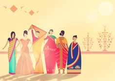 The Saree Festival 2014 on Behance