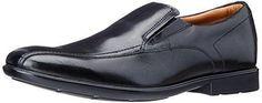Oferta: 120€ Dto: -36%. Comprar Ofertas de Clarks Gosworth Step -  Zapatos de vestir de cuero (sin cordones), Hombre, color negro, talla 41.5 barato. ¡Mira las ofertas!