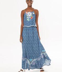 vestido longo alcinha bela vista