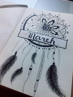 Bullet journal 2018 March