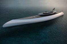 Oceanco Tuhura Superyacht Polynesian canoe inspired superyacht concept. Go to Source Author: Parker L Ross... http://drwong.live/rides/oceanco-tuhura-superyacht/