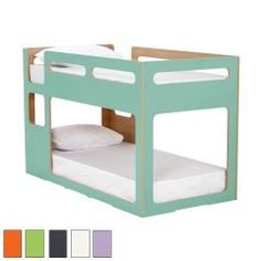 Mini Me Compact Bunk Frame Single Bunk Bed love how this is