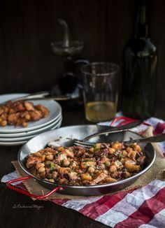 Ropa Vieja Polpo e ceci Fish Recipes, Seafood Recipes, Salad Recipes, Kitchen Recipes, Cooking Recipes, Healthy Recipes, Nordic Recipe, Peruvian Recipes, Island Food