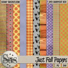 Just Fall Papers