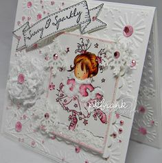 """A """"Girly"""" Christmas Christmas Dance, Noel Christmas, Christmas Crafts, Hobby House, Scrapbook Cards, Scrapbooking, Digital Stamps, Xmas Cards, Creative Cards"""