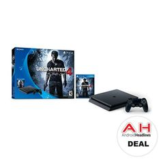 Deal: Sony PlayStation 4 Slim Uncharted 4 Bundle for $229 – 12/22/16 #android #google #smartphones