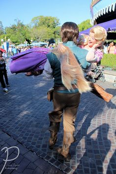 In such a case as this....not such a bad thing to work at Disneyland as a princess ;)