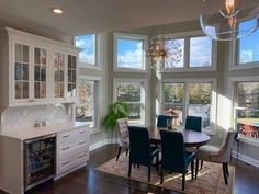 How do you like this wet bar transition from kitchen to open floor plan dining space - yay or nay? Coastal Virginia Magazine's Best Kitchen & Bathroom Remodeler#dogoodwork #kitchendesign #hgtv #kitchen #bathroom #homeimprovement #home #remodeling #remodel