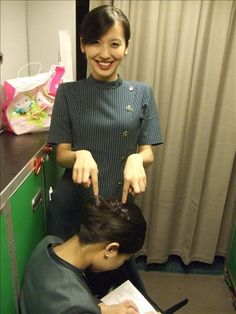 Eva Air Stewardess Photos ~ Cabin Crew Photos