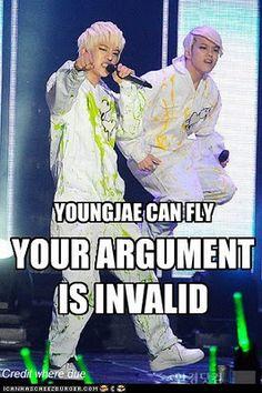 Daehyun and Youngjae LOL x°°°°DDDDDD