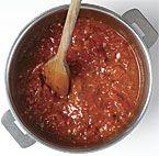 Cooked Fresh Tomato Sauce