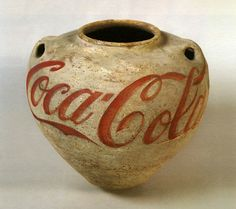 Han Dynasty urn with Coca Cola logo by Ai Weiwei