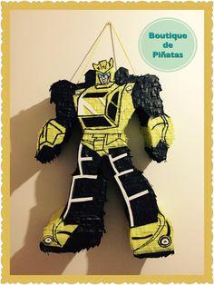 Transformers • Bumblebee • Piñata • $580  | 2 días para hacerla + 5-6 días hábiles de envío a todo México |
