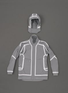 Umbro and Aitor Throup's work - love how he manipulates generic garments into something so much more interesting. - this piece is so simple and not been manipulated that much and yet it is still so different to other jackets you see.