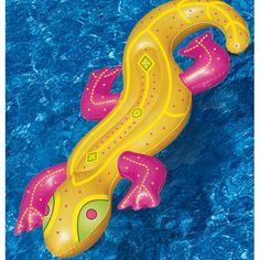 """""""Lizard Pool Lounge"""" Fun for kids to ride on!"""